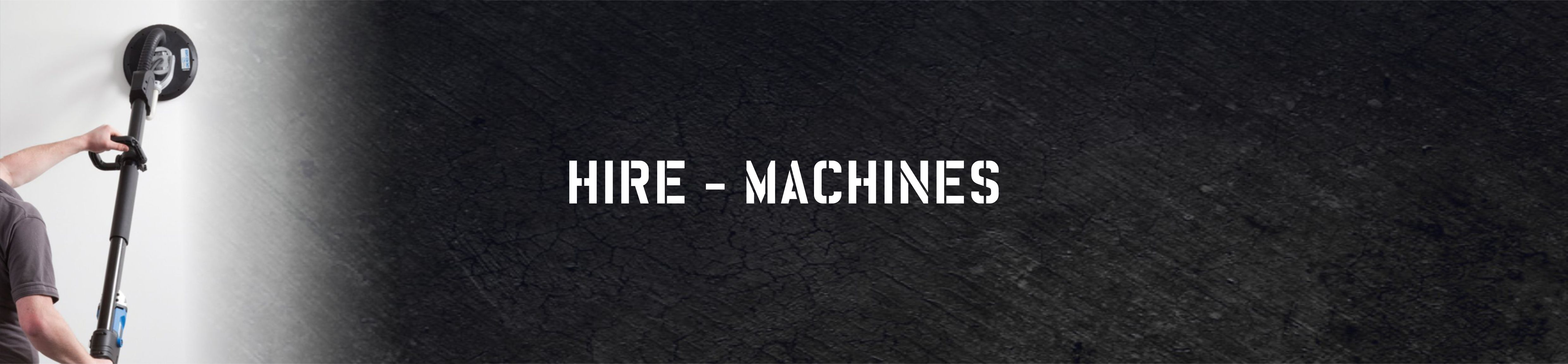 Hire - Machines