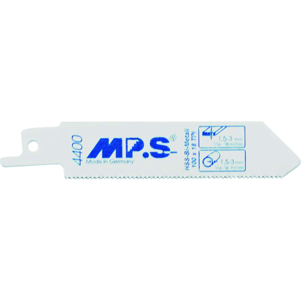 S522EF - MPS Recip Blade 100x19x0.9mm BiM - Pk 5