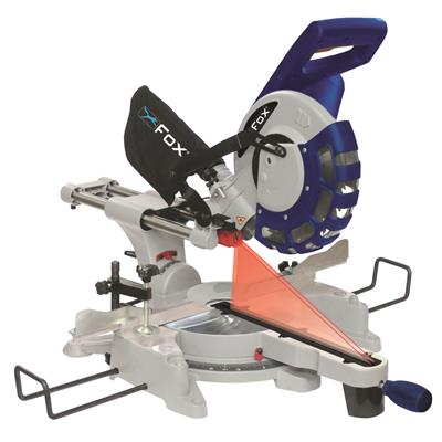 "FOX 10"" Double Bevel Mitre Saw 240V"