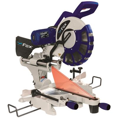 "FOX 12"" Double Bevel Mitre Saw 240V"