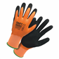 Handmax Orange Waterproof Latex Glove - L(9) *
